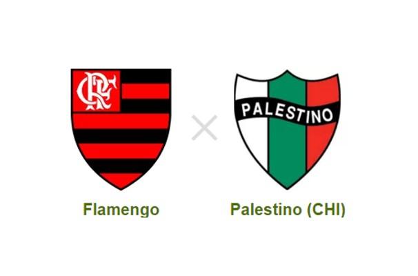 Flamengo volta a enfrentar Palestino em jogo decisivo  (Foto: Reprodução)