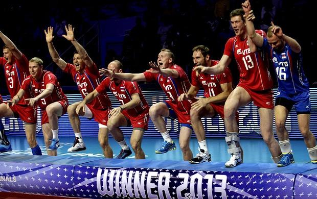 vôlei liga mundial rússia campeã (Foto: Agência EFE)