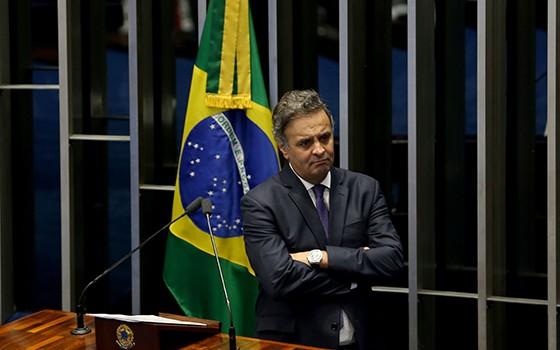 Aécio Neves - Senador  (Foto: Wilson Dias/Agência Brasil)