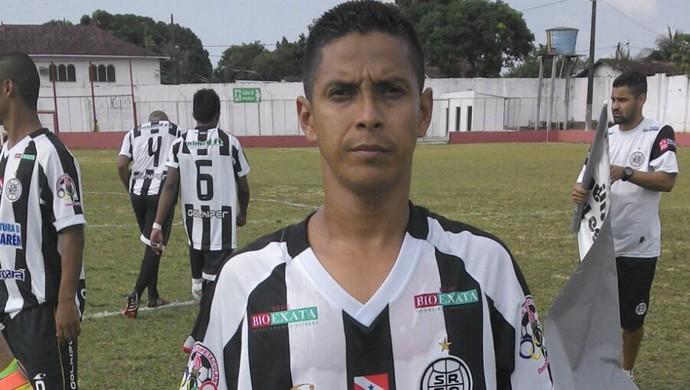 Cléo, atacante do São Raimundo (Foto: Divulgação/ São Raimundo F.C.)