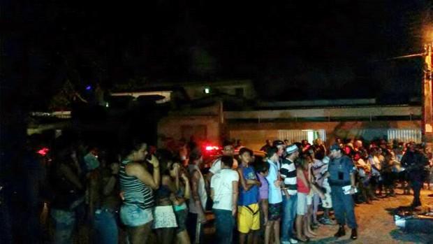 Casal é assassinado no conjunto Potilândia, na zona Sul de Natal - Rio Grande do Norte (Foto: Muriu Mesquita/Inter TV Cabugi)