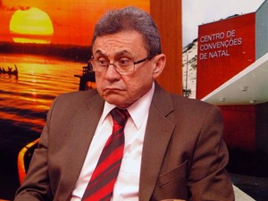 Alber da Nóbrega, secretário de Administração do Rio Grande do Norte (Foto: Ricardo Araújo/G1)