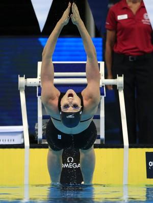 Missy Franklin 100m costas seletiva americana natação Omaha (Foto: AP)
