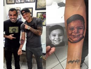 Giovanni Augusto homenageia filho com tatuagem (Foto: Reprodução/Instagram)