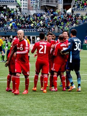 Julio Cesar toronto FC Seattle Sounders (Foto: Diogo de Ávila)