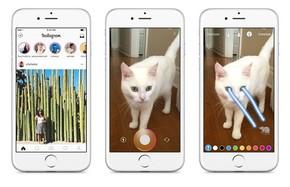 Instagram ganha 'modo história', similar ao recurso do Snapchat. (Foto: Divulgação/Instagram)