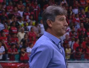 Renato comanda Grêmio contra o Vitória