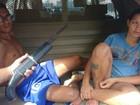 Homem e mulher grávida são presos por tentativa de assalto no Ceará