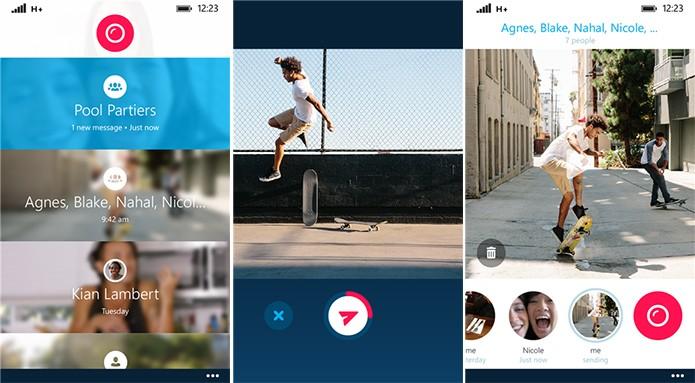 Skype QIK é um aplicativo de mensagens de vídeos curtos para Windows Phone (Foto: Divulgação/Windows Phone Store)