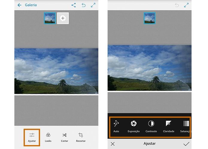 Inicie os ajustes na imagem pelo Photoshop Mix (Foto: Reprodução/Barbara Mannara)
