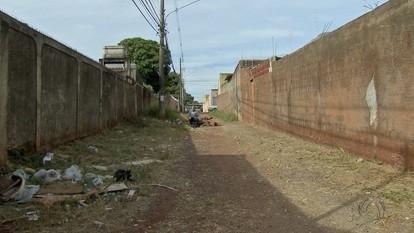 Calçadão do bairro Estrela do Sul ainda está com problemas em Campo Grande
