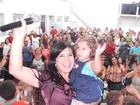 Mara Maravilha curte Carnaval: 'Na casa do senhor'