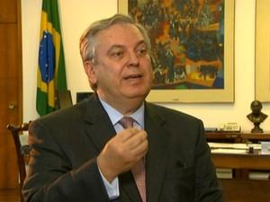 Luiz Alberto Figueiredo, ministro das Relações Exteriores/GNews (Foto: Reprodução Globo News)