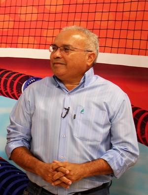 Jankel Costa - Presidente do Flamengo-PI (Foto: Josiel Martins/GLOBOESPORTE.COM)