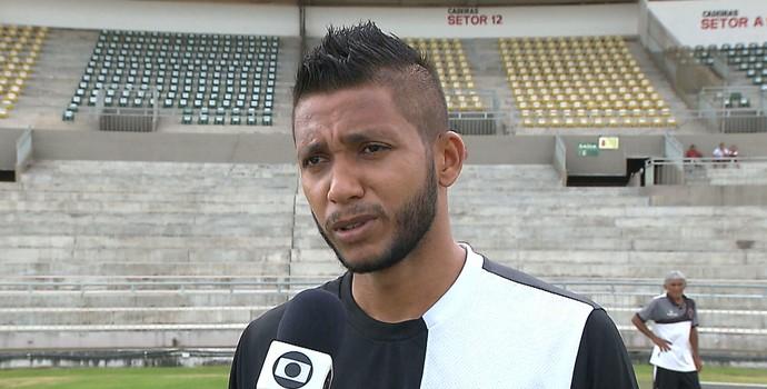 Magno Alves, Botafogo-PB (Foto: Reprodução / TV Cabo Branco)