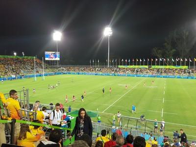 Estádio de Deodoro pode ser usado para jogos de futebol (Foto: Rodrigo Breves)