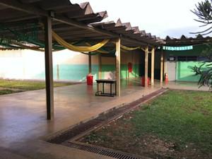 Escola que funciona dentro da Unidade de Internação do Recanto das Emas, no Distrito Federal (Foto: Raquel Morais/G1)