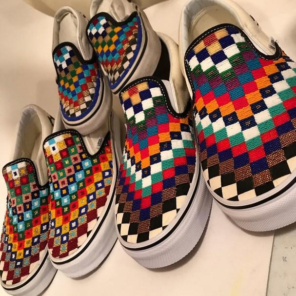 Os Vans de Charlene Holy Bear (Foto: Instagram/Reprodução)