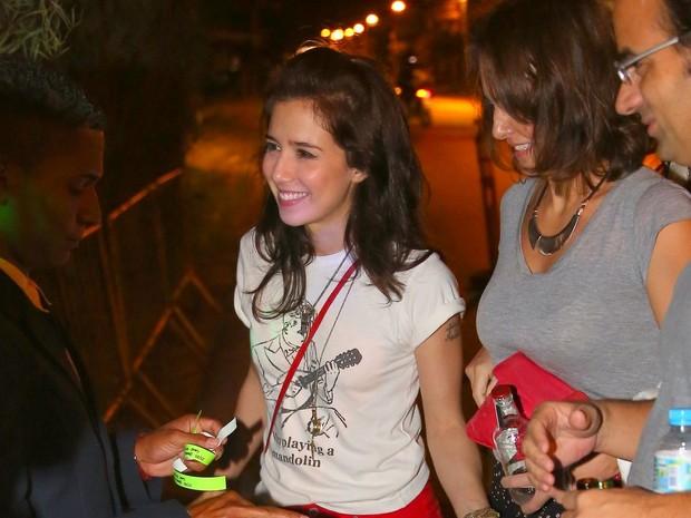 Marjorie Estiano em festa na Zona Oeste do Rio (Foto: Dilson Silva e Delson Silva/ Ag. News)