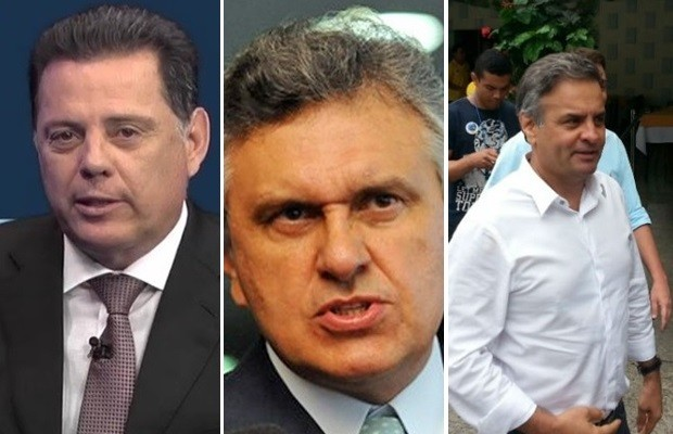 Justiça condena Marconi, Caiado e Aécio por lixo eleitoral, em Goiás (Foto: G1)