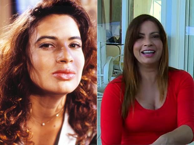 Isadora Ribeiro interpretava a personagem Vera Soares de Azevedo (Foto: Vídeo Show / Gshow)