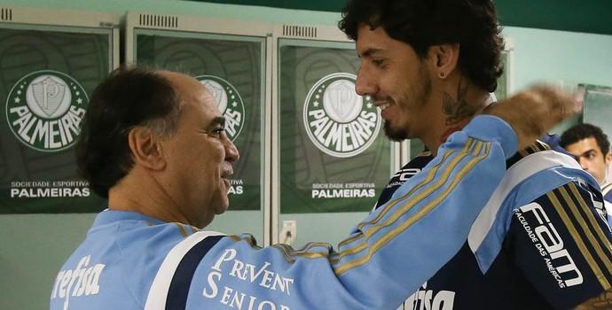 Marcelo Oliveira Palmeiras Victor Ramos (Foto: Cesar Greco/Ag Palmeiras/Divulgação)