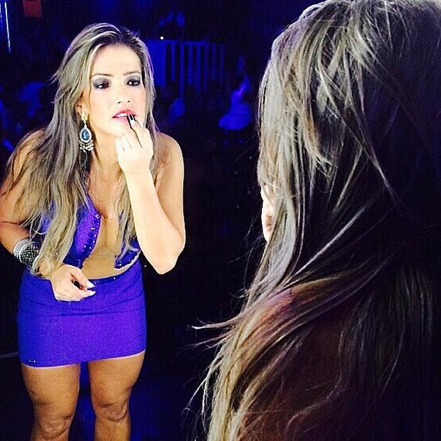 Ex-BBB Fani em casa noturna em Brasília (Foto: Instagram/ Reprodução)
