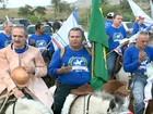 Cavaleiros refazem rota de Zumbi dos Palmares em AL