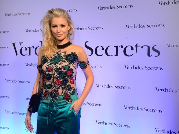 Rhaisa Batista em lanamento da novela 'Verdades Secretas' (Foto: Divulgao/TV Globo)
