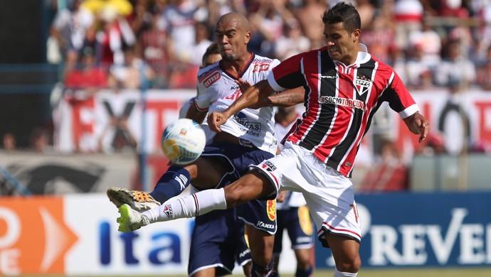 Alan Kardec Penapolense x São Paulo (Foto: Rubens Chiri/saopaulofc.net)
