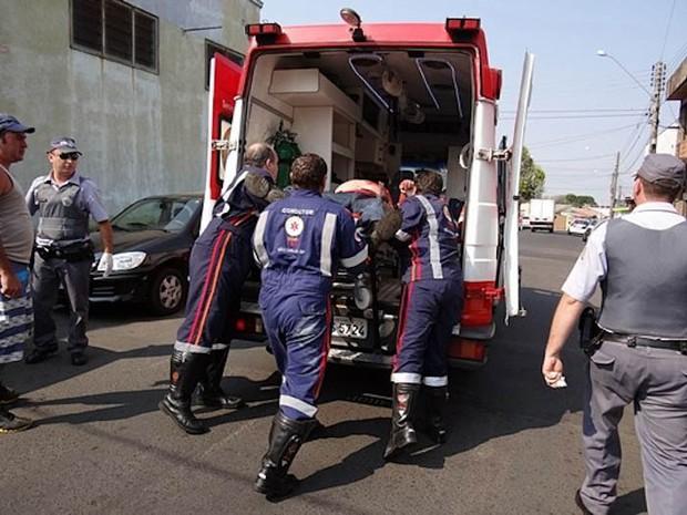 Policial militar morreu após levar seis tiros na Vila Jacobucci (Foto: Marcio David)