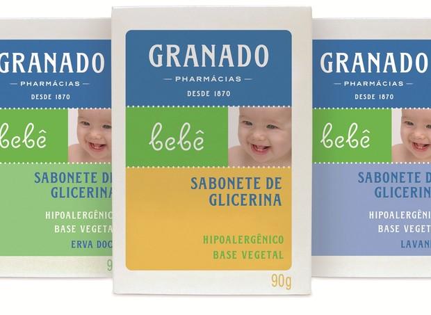 Sabonete Granado de Glicerina 100% Vegetal: ação natural na pele (Foto: Divulgação)