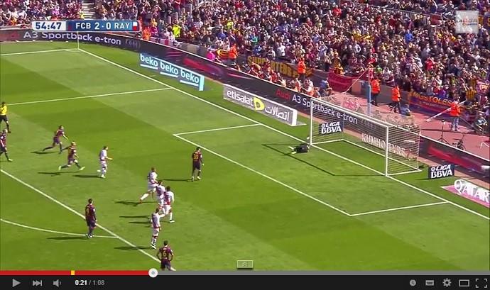 Messi perde pênalti no Barcelona x Rayo Vallecano