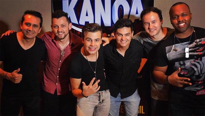Banda Kanoa está se preparando para a repescagem do SuperStar (Foto: Arquivo pessoal)