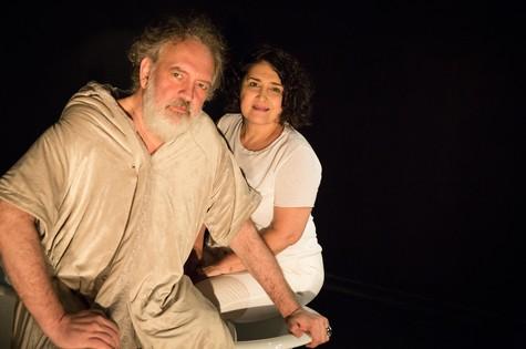 Luciano Chirolli e Inez Viana (Foto: Renato Mangolin)