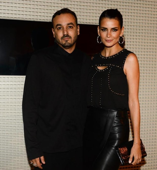 Fernanda Motta e o marido, Roger Rodrigues (Foto: Francisco Cepeda/Agnews)