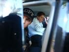 Gim Argello embarca no aeroporto de Brasília em direção a Curitiba