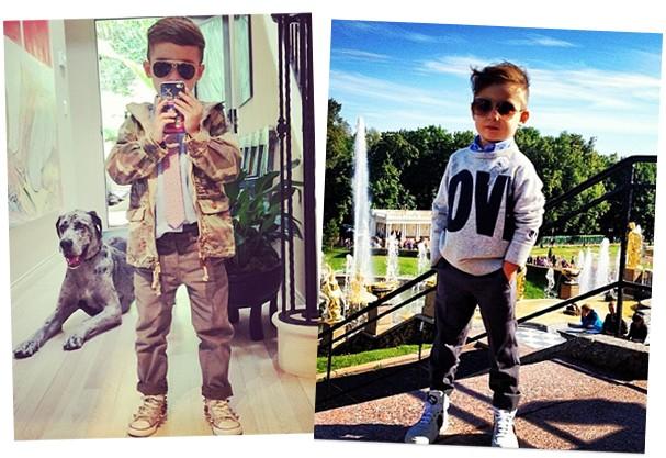 Esse menino é puro charme!  (Foto: Reprodução/Instagram)