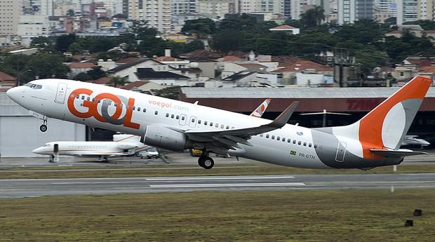Avião da Gol. Empresa conecta Nordeste ao exterior em voos diretos (Foto: Flickr)