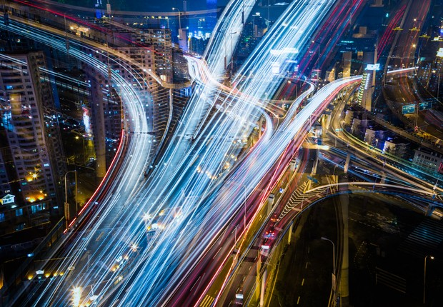 Avanços na tecnologia tiveram impacto direto em melhorias no trânsito (Foto: Thinkstock)