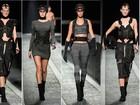 Isabelli, Carol Trentini, Karlie Kloss... Alexander Wang apresenta coleção para H&M em desfile cheio de tops