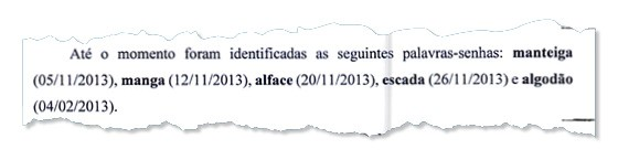 SENHAS Nos encontros secretos, o funcionário da Odebrecht e o operador de Pimentel acertavam códigos (Foto: Reprodução)