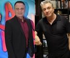 Ricardo Linhares e Edney Silvestre | TV Globo
