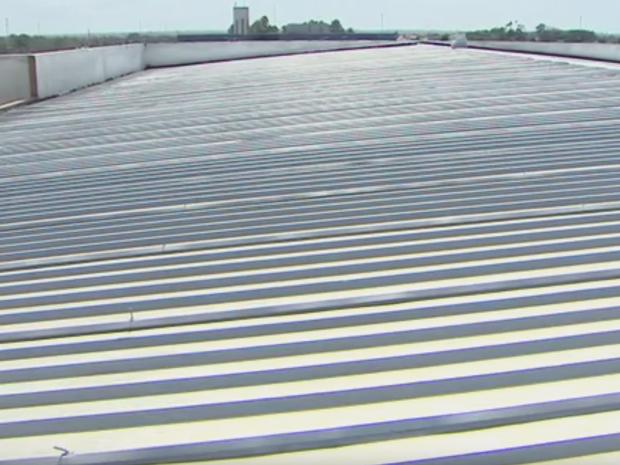teto, energia solar, prério, geradores fotovoltaicos, Macapá, Amapá (Foto: Reprodução/ Facebook)