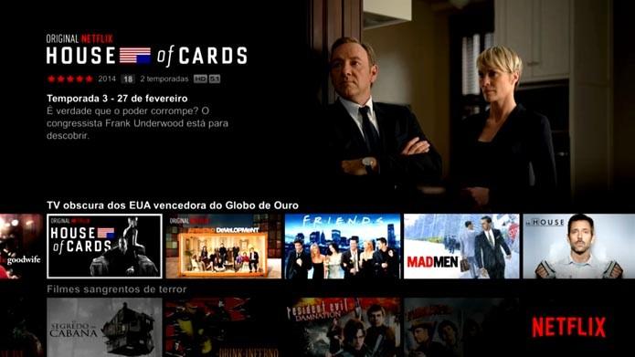 Xbox One: saiba como usar o app da Netflix no console (Foto: Reprodução/Murilo Molina)