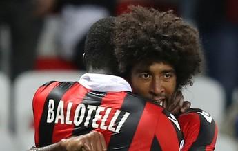 """Dante admite surpresa com o Nice e vê Balotelli """"disposto a limpar imagem"""""""