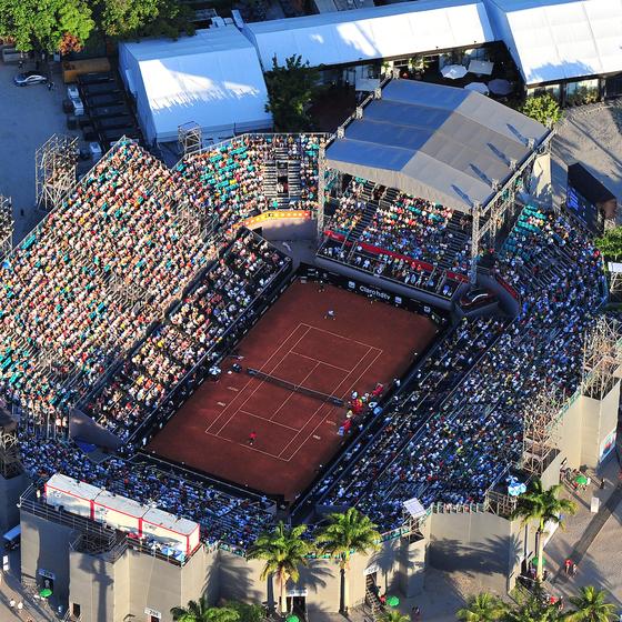 O Rio Open é o maior torneio de tênis da América Latina (Foto: Divulgação)