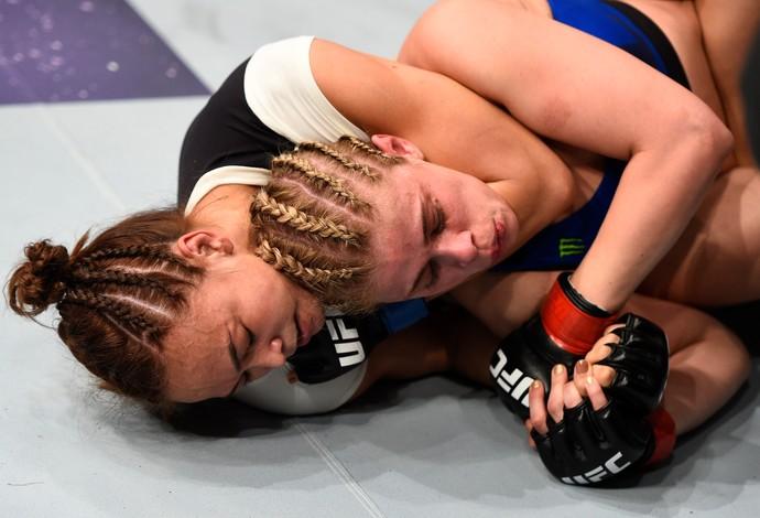 Michelle Waterson x Paige VanZant UFC Sacramento (Foto: Getty Images)