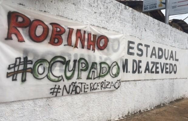 Estudantes ocupam outra escola em protesto contra terceirização, em Goiás (Foto: Divulgação)