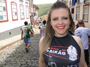 Ludmila Morais quer ter histórias para contar aos netos (Foto: Alex Araújo / G1)